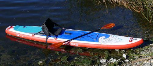 Hala Gear Rival Nass with a kayak seat
