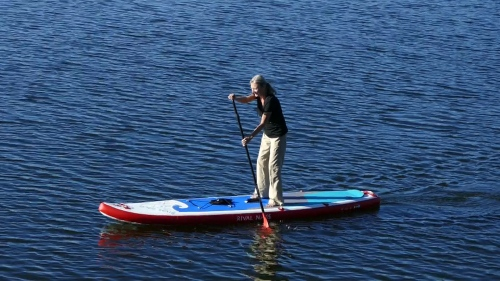 Hala Gear Rival Nass on the water.