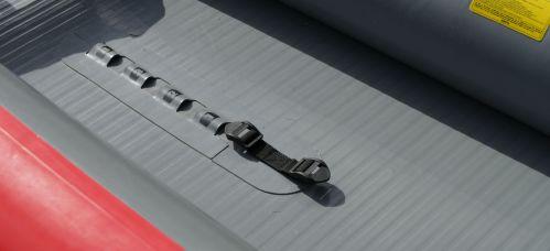 Center brace attachment system