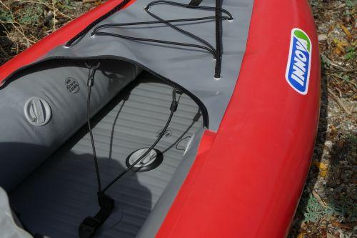 Retaining straps for rear storage.
