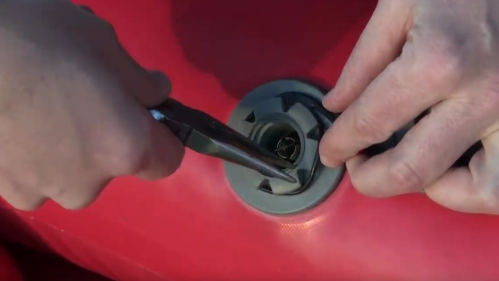 Installing the airCap