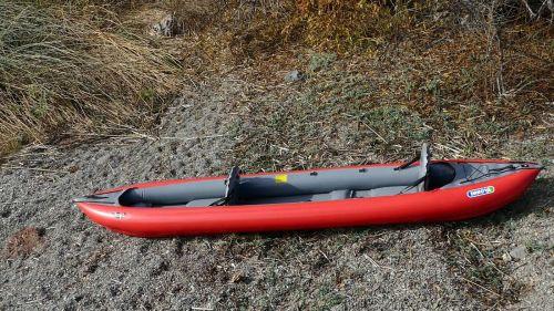 Innova Thaya set up for tandem paddling