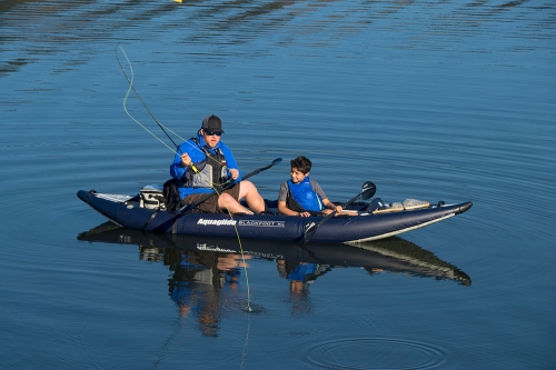 AquaGlide Blackfoot XL for 1 to 2 paddlers.