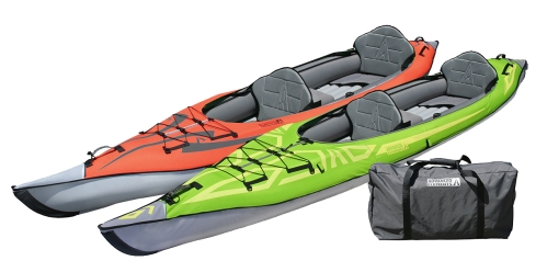 AE1007 Convertible Kayak in Red or Green