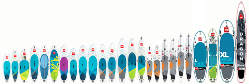 2018/2019 Red Paddle Co Lineup