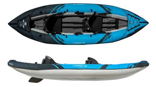 AquaGlide Chnook 100 inflatable kayak