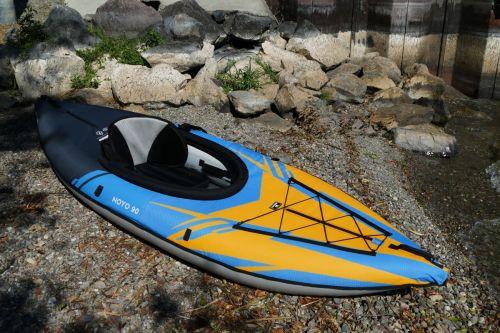 AquaGlide's new Noyo inflatable kayak