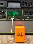 Charging the Kokopelli Feather pump