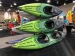 AquaGlide's new Navarro series of inflatable kayaks