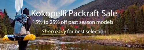 Kokopelli Packraft past season sales event