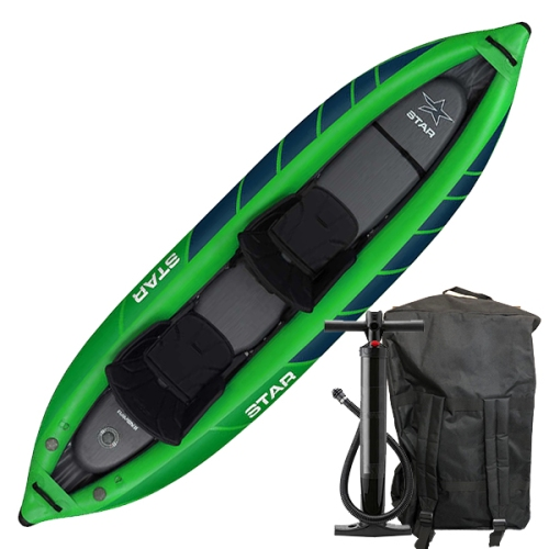 Star Raven Two Inflatable Tandem Kayak