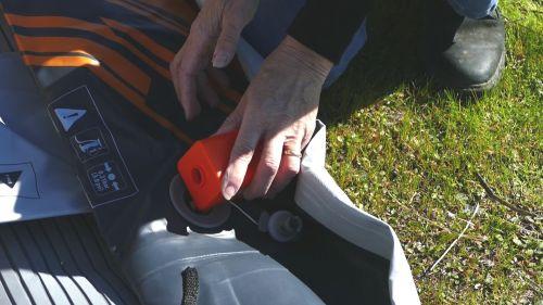 Using the Kokopelli Feather Pump