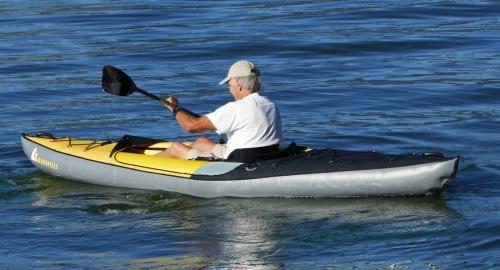 Moki on the water