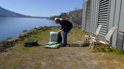 Unfolding the Navarro kayak