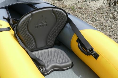 Molded EVA seat.