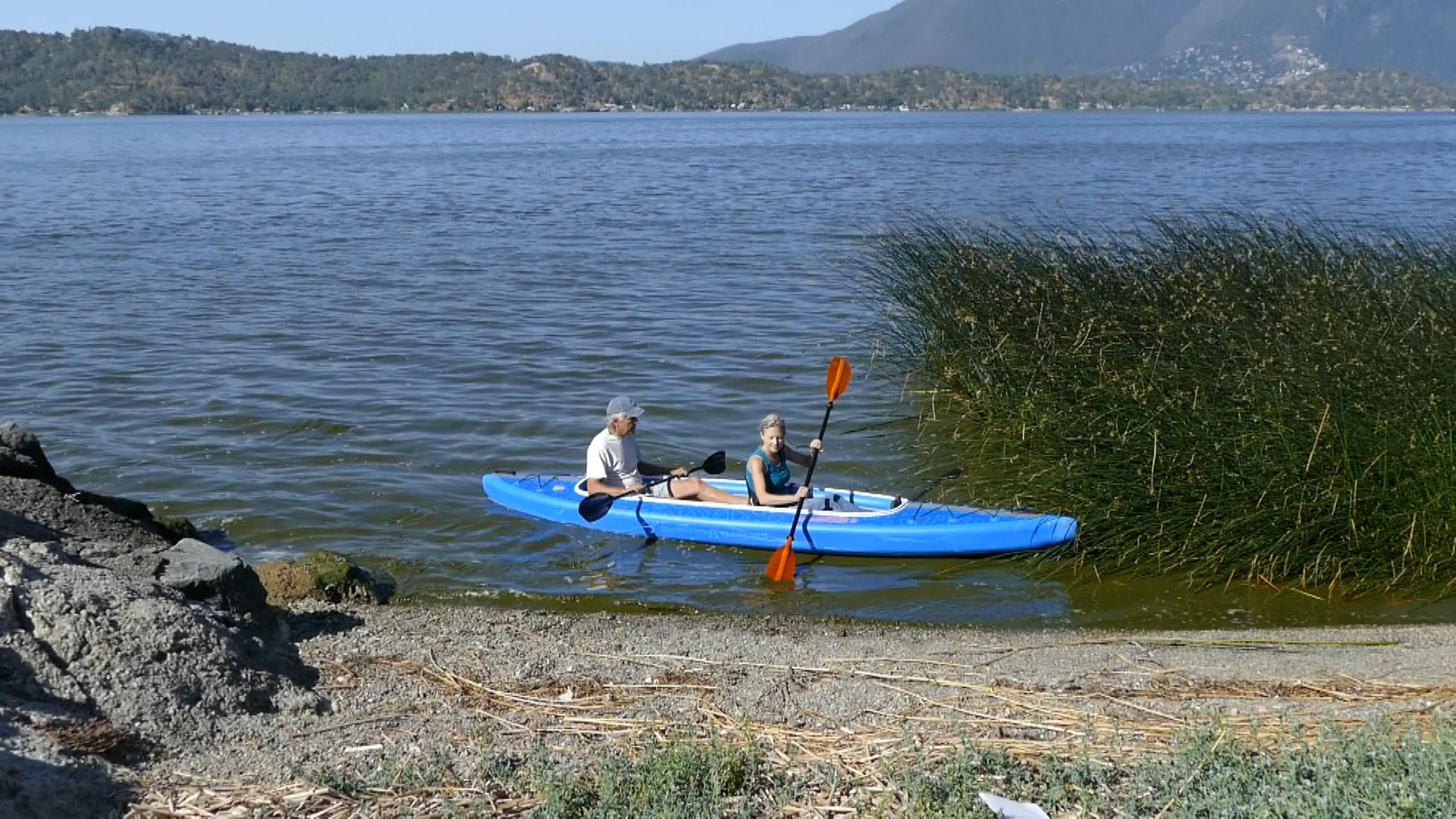 AirVolution paddled tandem