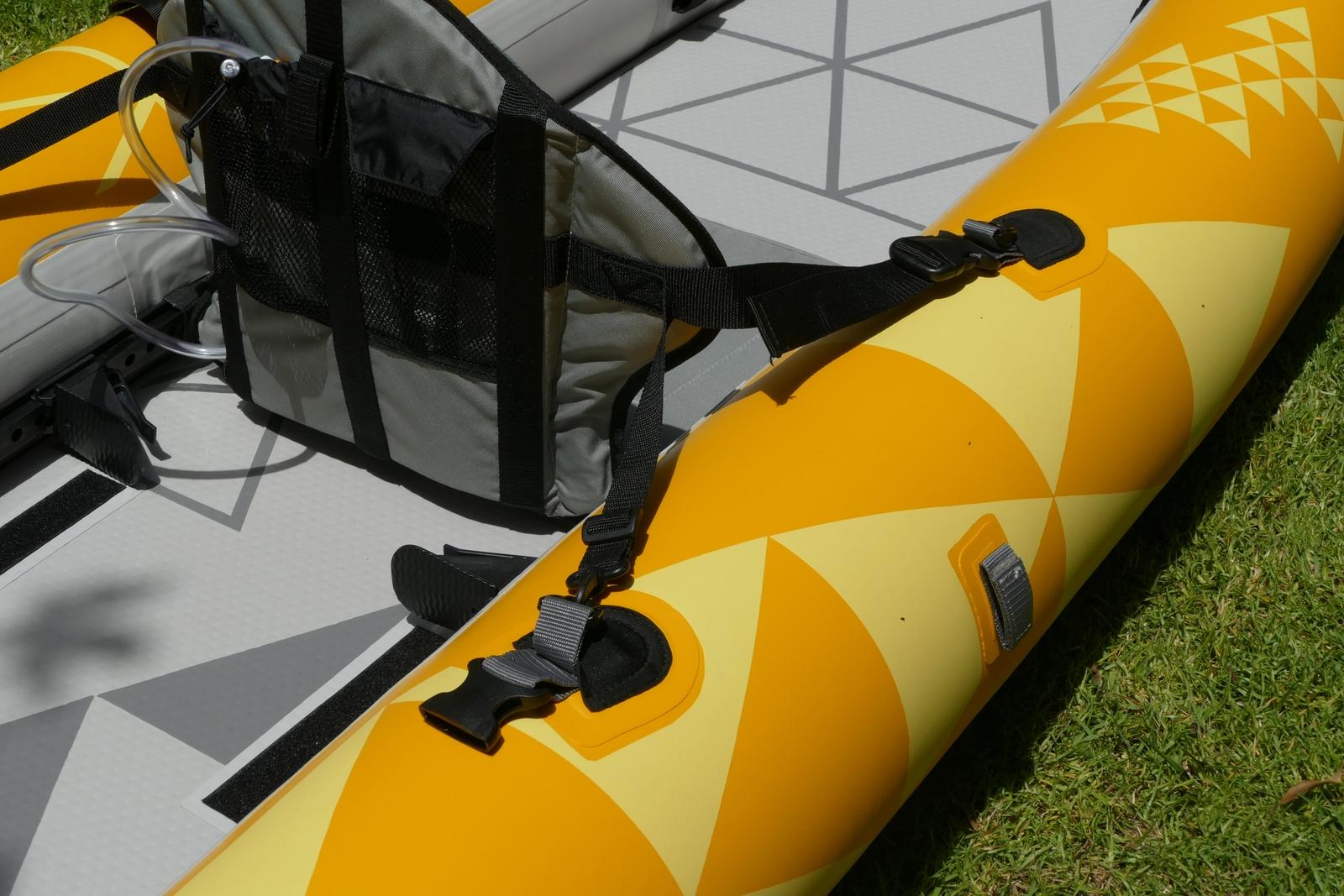 Rear seat straps