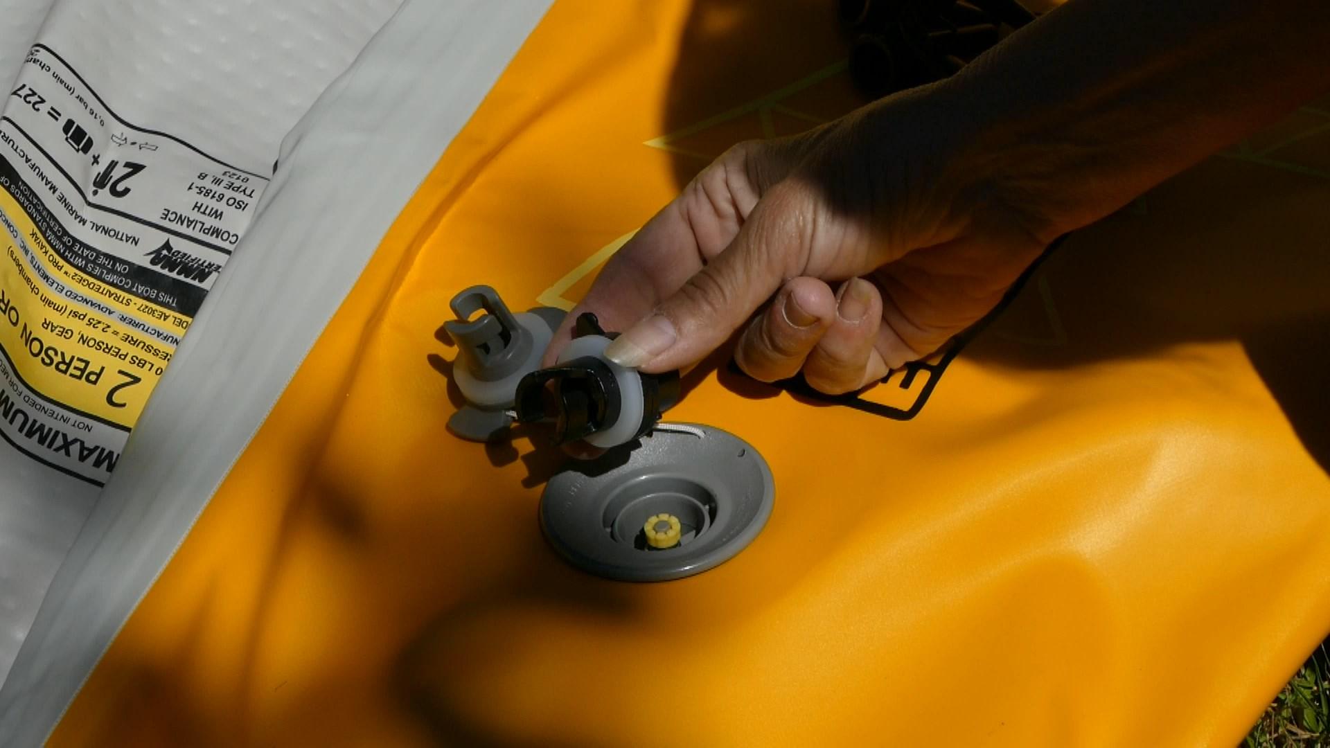 Military valve adaptor.