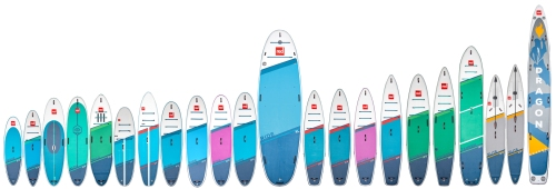 2021 Red Paddle Co SUP Lineup