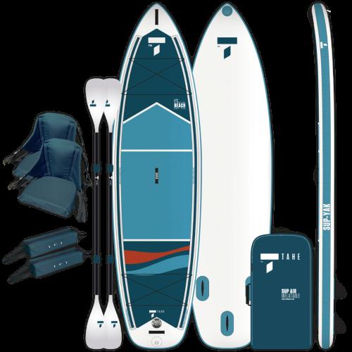 Tahe Outdoors Beach 11-6 Inflatable SUP-YAK and Kayak Kit